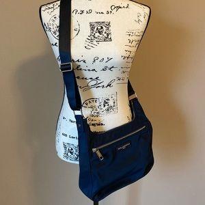 Karl Lagerfeld Nylon Crossbody Bag in Navy